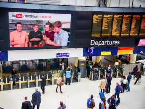 Google is testing DOOH ads in London throughout Nov. 2015
